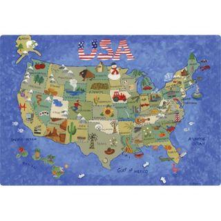 Magic Slice 7.5 x 11 USA Map Design Cutting Board