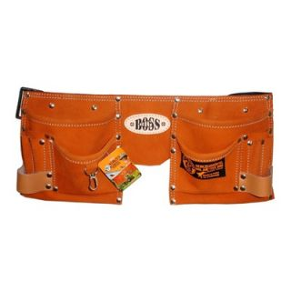 Bourn Tough 10 Pocket Kids Tool Bag Belt / Tool Apron   KTB 01 Brown