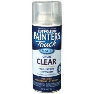 PaintersTouch 12 Oz Clear Matte Spray Paint 1902 830   1902 830
