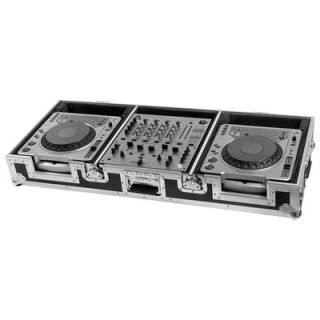 / Denon / Technics CD Players Plus 12 Mixer with Wheels