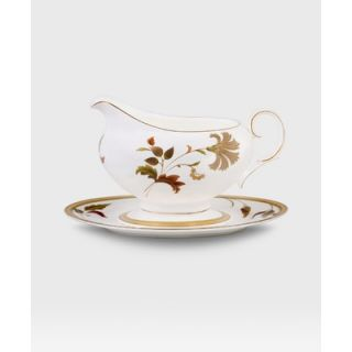 Noritake Islay 16 Oz Gravy Boat with Tray Set   4885 416
