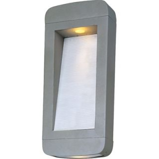 Maxim Lighting Optic LED 18 Two Light Wall Sconce in Platinum