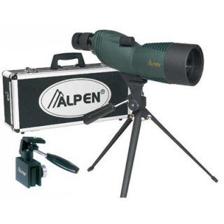 Alpen Outdoor 15 45x60 Waterproof Spotting Scope Kit