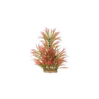 Pure Aquatic Natural Elements Alternanthera Aquarium Ornament in Pink