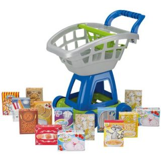 American Plastic Toys 15 Piece Deluxe Shopping Cart