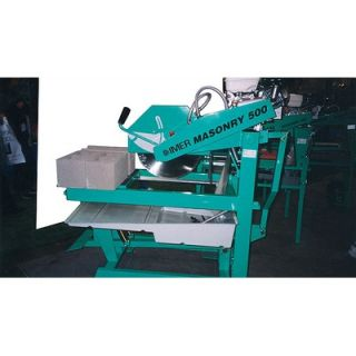 Imer Masonry 500 Blockhead 20 Saw Gas or Electric   Blockhead 500