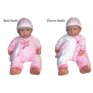 JC Toys 20 La Baby Doll   15340 Bird / 15340 Flower