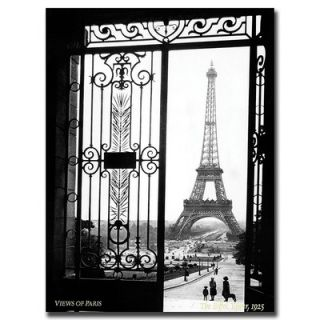 Trademark Global Views of Paris by Sally Gall, Traditional Canvas Art