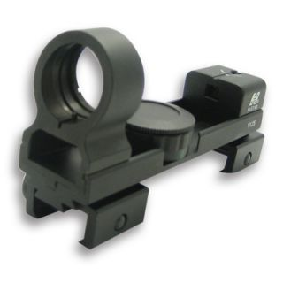 NcSTAR 1x25 Red and Green Dot ReflexSight in Black