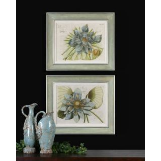 Lotus Flower Wall Art By Grace Feyock   23.625 x 27.625 (Set of 2