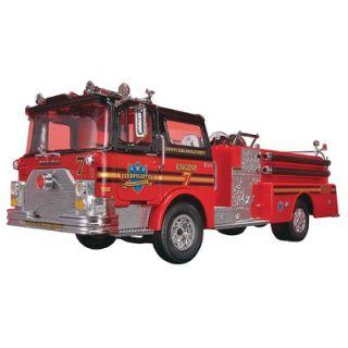 Revell 132 Mack Fire Pumper Truck Plastic Model Kit