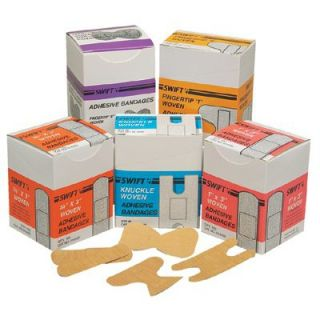 First Aid Adhesive Bandages   fingertip 8 woven 25/bx