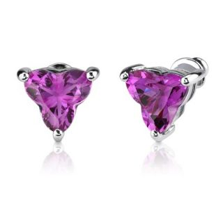 Oravo Ultimate Dream 10.25 carat Tri Flower Cut Pink Sapphire Pendant