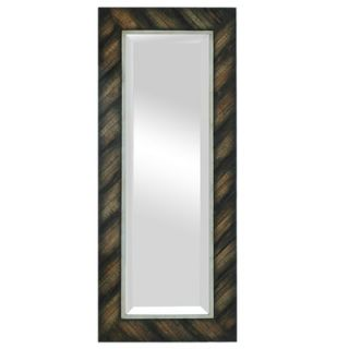 Crestview Beveled Slatted Frame Rectangular Mirror   CVMRA247