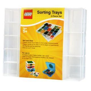 IRIS USA, Inc. LEGO Organizer Tray (Set of 2)