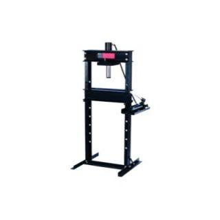 Omega 12 Ton Shop Press W/Hand Pump