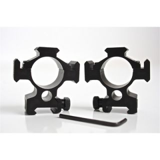 CounterSniper Scope Mount Set with Picatinny Rail   30mm