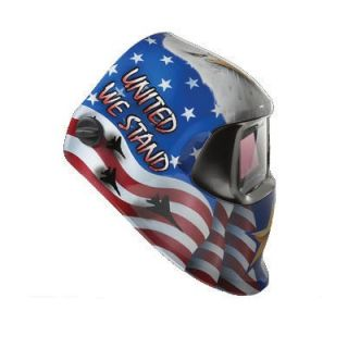 Hornell Speedglas Red, White And Blue American Pride Design Welding