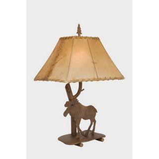 Kenroy Home Spyglass 31 Table Lamp in Steel