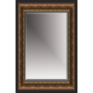 Michael Payne Beveled Mirror in Antique Gold Black