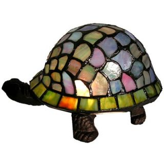 Warehouse of Tiffany Turtle Accent Table Lamp   TN07B113