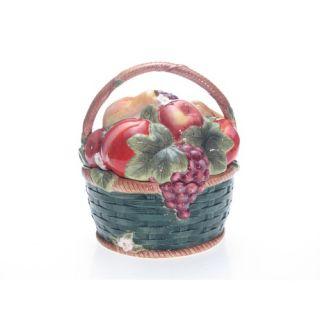 Certified International Parisian Fruit 3 D Cookie Jar by Susan Winget