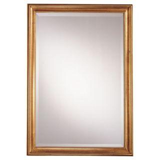 39.5 Rectangular Mirror in Castillian Gold