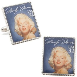 Penny Black 40 Marilyn Monroe Stamp Cufflinks   PB MM SL
