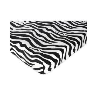 Sweet Jojo Designs Funky Zebra Crib Bedding Collection   FunkyZebra