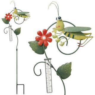Regal Art & Gift Grasshopper Rain Gauge   REGAL10061