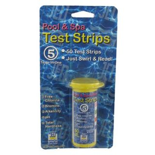 Jed Pool Tools 50 Count 5 Test Pool and Spa Test Strips