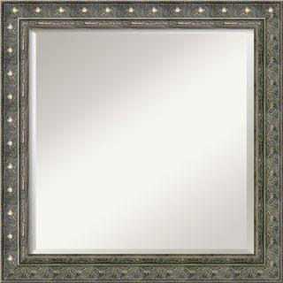 Amanti Art Cape Cod Large Mirror in Rustic Whitewash   DSW01035