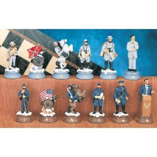 CHH American Civil War Chess Piece Set   2116   X