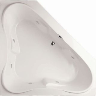 American Acrylic 59.5 x 59.5 Whirlpool and Air Massage Arm Rest