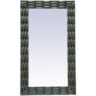 Crestview Weave Design Traditional Wall Mirror   CVMRC012