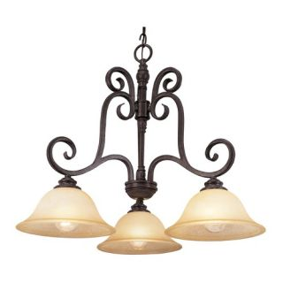 Steel Partners San Carlos 4 Light Pasadena Chandelier   2061 71