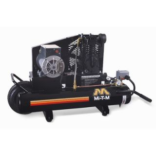 Mi T M 2 HP Electric / 8 Gallon Single Stage Wheelbarrow Air