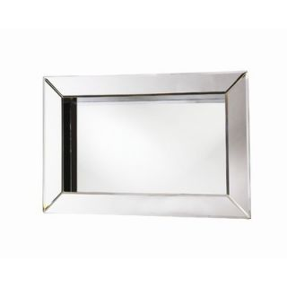 Howard Elliott Angela Rectangular Box Framed Wall Mirror