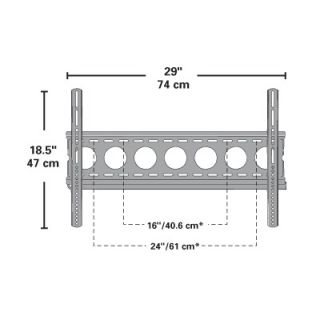 Sanus Classic Series 1.25 Low Profile Wall Mount for 32   63 Flat