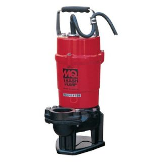 Multiquip 79 GPM Submersible Trash Pumps with Single