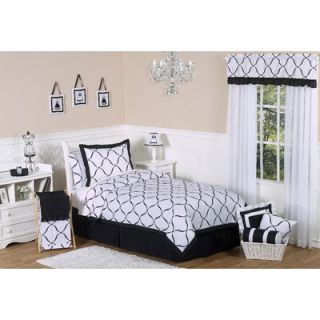 Sweet Jojo Designs Black and White Princess Bedroom Accessories