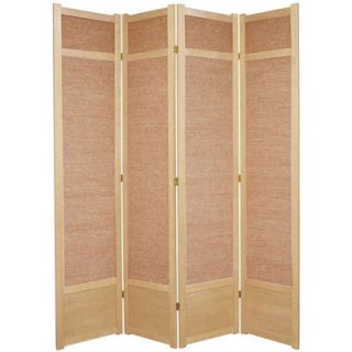 Oriental Furniture 84 Jute Shoji Room Divider   SS 84JUTE