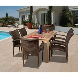 Home Styles Outdoor Round Dining Table   88 5554 30
