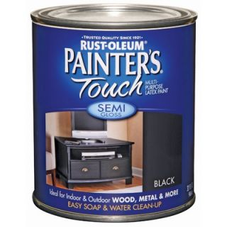 PaintersTouch 1 Quart Semi Gloss Black Painters Touch™ Multi Purpose