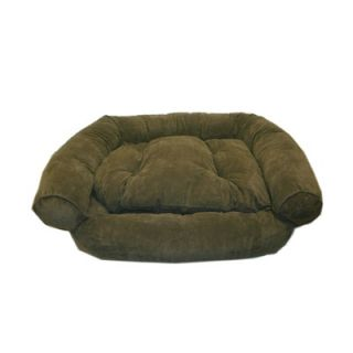 Everest Pet Faux Suede Comfort Couch™ Dog Bed in Moss   0136 Moss