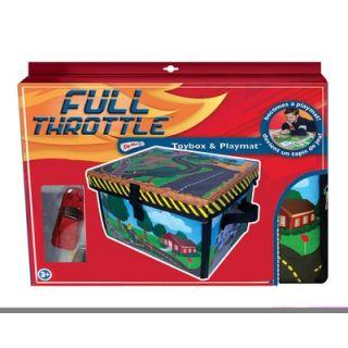 ZipBin Full Throttle™ Small Town Toy Box & Playset