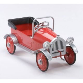 Airflow Collectibles Hot Rodder Pedal Car in Red