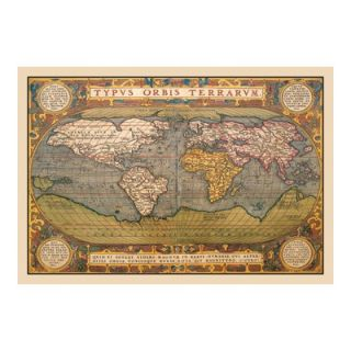 Buyenlarge World Map Canvas Art   09043 xC2030 / 09043 xC2436