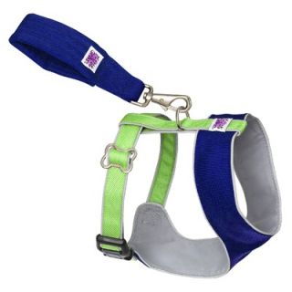 "Doggles Mutt Gearâ""¢ Dog Comfort Harness in Blue and Green"