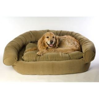Everest Pet Faux Suede Comfort Couch™ Dog Bed in Sage   0135 Sage